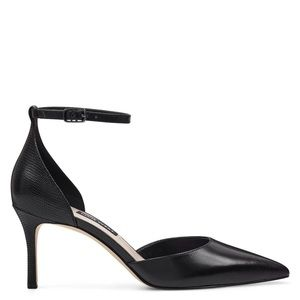NWOB Nine West Marisa Leather Ankle Strap Pump